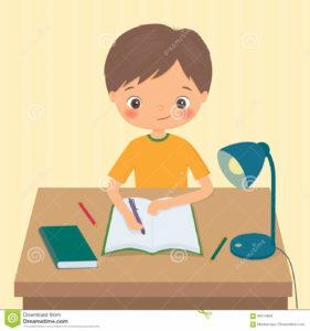 le-petit-garçon-fait-un-travail-86514829